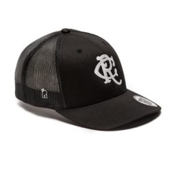 Rex Club Varsity Black Trucker